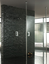 Aquadart Wetroom 1200mm Walk-Through Shower Enclosure