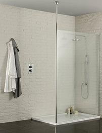 Aquadart Wetroom 1000mm Walk-In Shower Enclosure