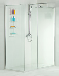 Phoenix Techno Corner Shower Enclosure 1600 x 800mm - Pack 5