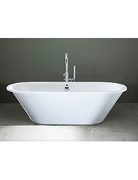Aquadart Khali 1800mm Skirted Flat Top Bath Tub