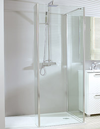 Phoenix Vision Corner Shower Enclosure 1600 x 800mm Pack 2