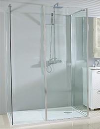 Phoenix Vision Single Wall Shower Enclosure 1400 x 900mm Pack 6