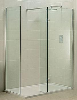 Phoenix Techno View Double Wall Walk-in Shower Enclosure