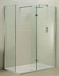 Phoenix Techno View Double Wall Walk-in Shower Enclosure