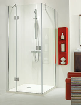 Phoenix 1000mm Frame-less Hinged Shower Door