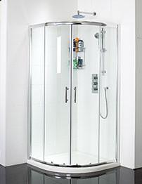 Phoenix Twin Door Quadrant Shower Enclosure 1000 x 1000mm
