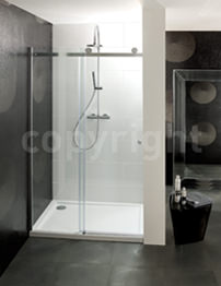 Simpsons Central 1200mm Single Slider Shower Door