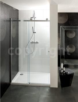 Simpsons Central 1100mm Single Slider Shower Door
