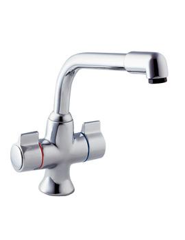 Deva Sauris Mono Kitchen Sink Mixer Tap Chrome