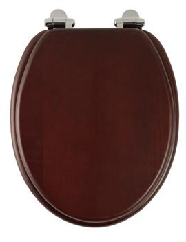 Roper Rhodes Traditional Soft-Closing Mahogany Toilet Seat