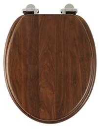 Roper Rhodes Traditional Soft-Closing Walnut Toilet Seat