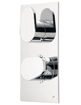 Roper Rhodes Stream Rectangular Concealed Shower Valve