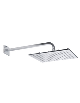 Roper Rhodes 300mm Square Shower Head With Square Fixed Arm