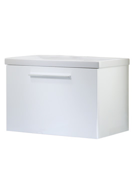 Roper Rhodes Envy 700mm Single Drawer Wall Hung Unit With Basin