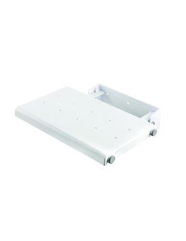 Croydex Wall Mounted White Fold Away Shower Seat