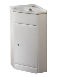 Roper Rhodes Valencia Corner Basin Unit With Ceramic Basin