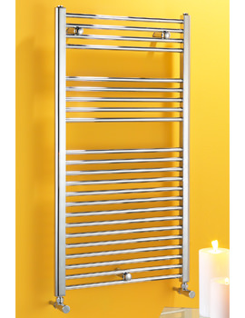 Biasi Dolomite 300 x 800mm Straight Heated Towel Rail Chrome