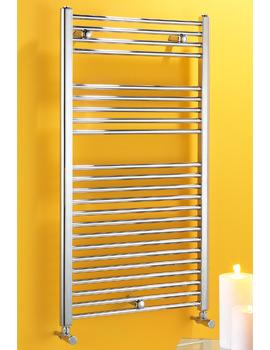Biasi Dolomite 500 x 800mm Straight Heated Towel Warmer Chrome