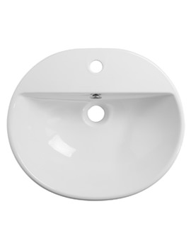 Roper Rhodes Zest 500mm Semi-Countertop Basin