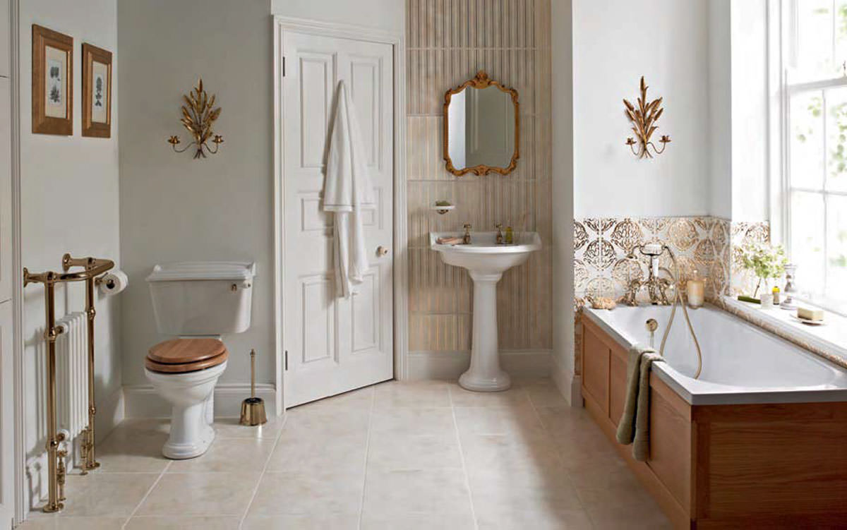 Heritage Dorchester Traditional Bathroom Suite