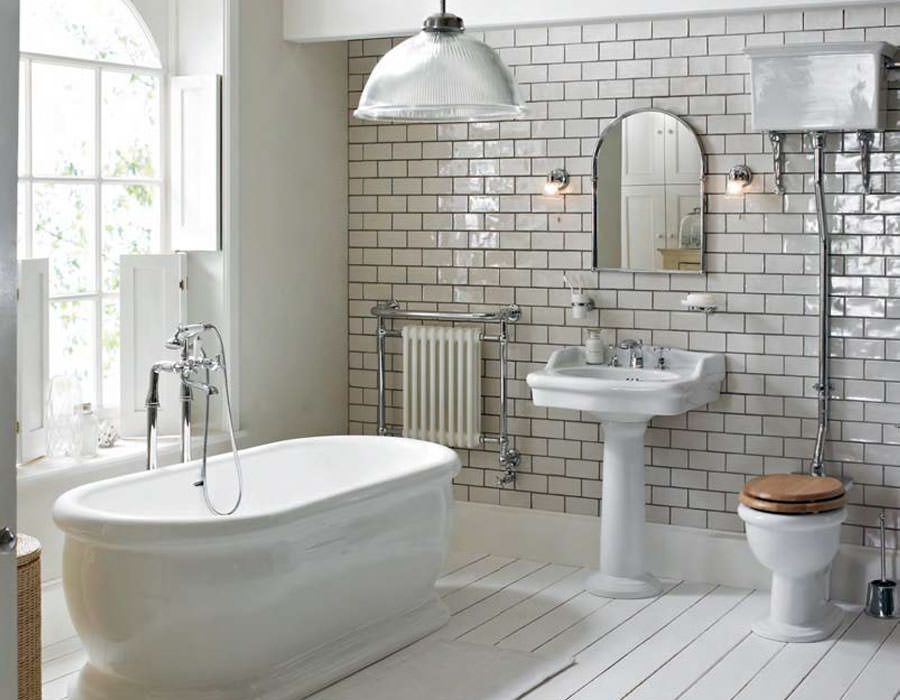 Heritage victoria traditional bathroom suite 1 for Bathroom ideas edwardian