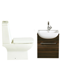 Heritage Sonic Square Cloakroom Suite 2