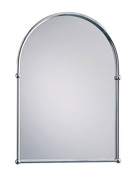 Heritage Chrome Arched Mirror