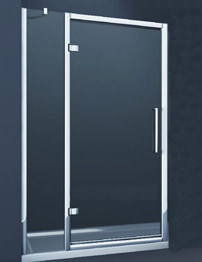 Merlyn 8 Series Hinge Door And Single Inline Panel 1200mm