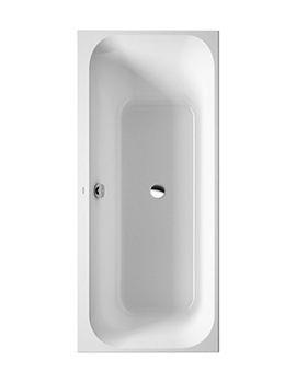 Duravit Happy D2 1700 x 750mm Built In Corner Left Bath