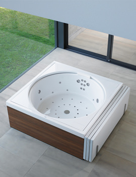 Duravit Blue Moon 1400mm Bathtub With Combi System E