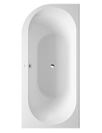 Duravit Darling New 1900 x 900mm Corner Right Bath With Acrylic Panel
