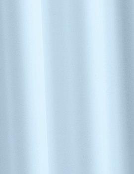 Croydex Plain Light Blue Textile Shower Curtain