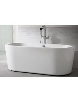 Essential Pebble Freestanding Bath 1700 x 800mm