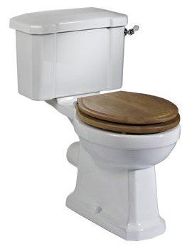Tavistock Vitoria Close Coupled WC Pan And Cistern 673mm