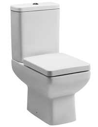 Tavistock Q60 Close Coupled WC Pan With Cistern And Seat 600mm
