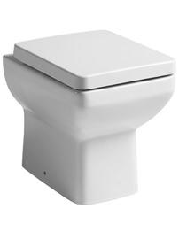Tavistock Q60 Back To Wall WC Pan 460mm With Soft Close Seat