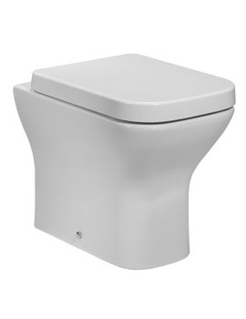 Tavistock Structure 515mm Back To Wall WC Pan With Soft Close Seat