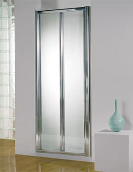 Kudos Original Silver Frame Bi-Fold Door 900mm
