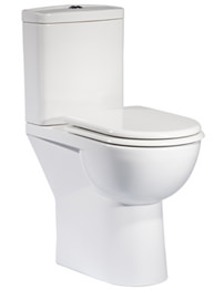Tavistock Micra Comfort Height WC Pan With Cistern And Seat 600mm