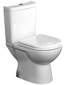 Tavistock Micra Close Coupled WC Pan With Cistern And Seat 600mm