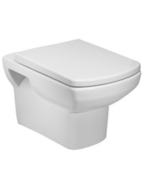 Tavistock Vibe Wall Hung WC Pan 535mm With Soft Close Seat