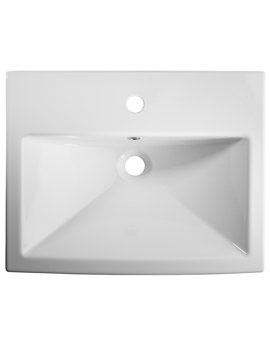 Tavistock Vibe 550mm Semi-Countertop Basin