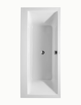 Duravit Vero 1900 x 900mm Rectangular Bath With Support Frame