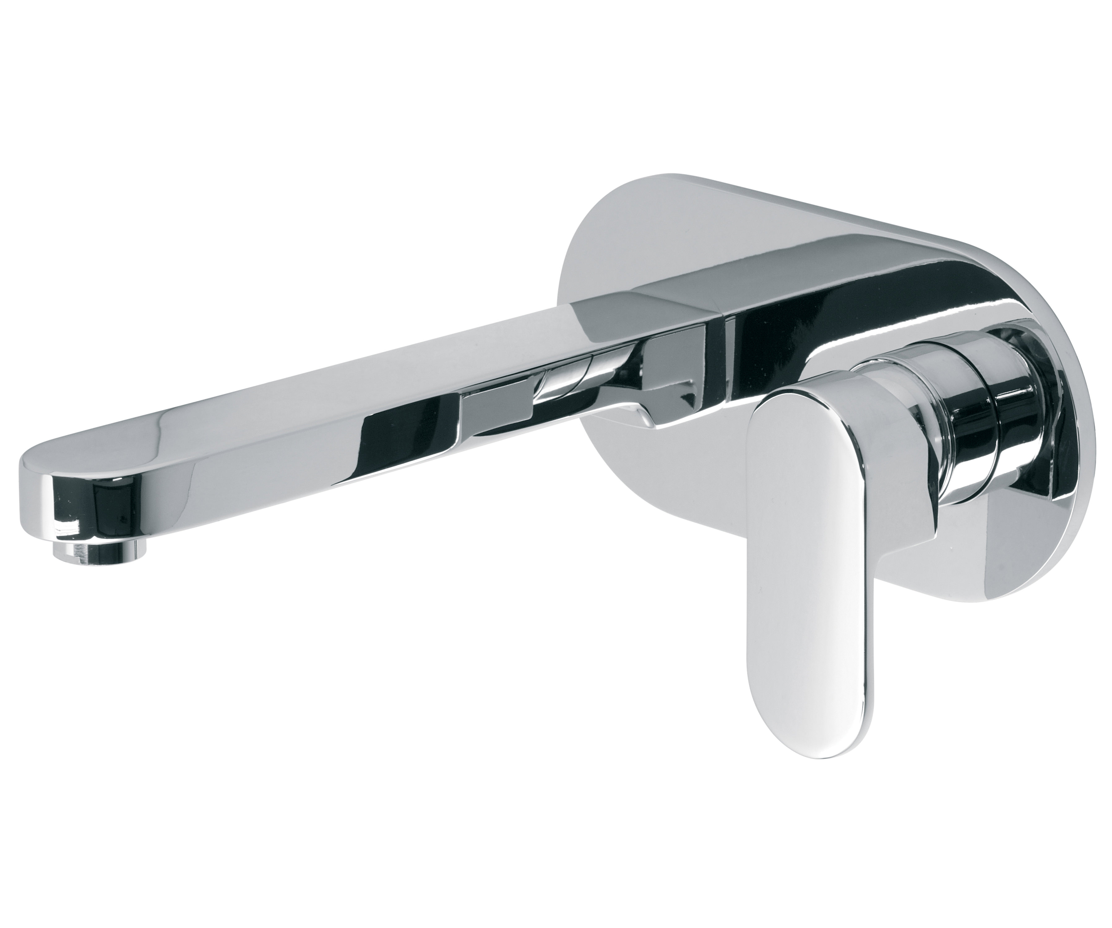 vado life wall mounted single lever basin mixer tap. Black Bedroom Furniture Sets. Home Design Ideas