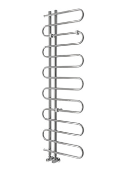 Essential Pisces Deluxe Chrome Plated Tube Towel Warmer 500 x 1400mm