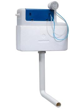 Tavistock Apex Dual Flush Slimline Concealed Cistern Side Inlet