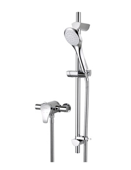 Bristan Capri2 Thermostatic Surface Mounted Shower Valve With Riser