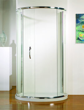 Kudos Infinite Peninsula Single Door 1200mm Silver