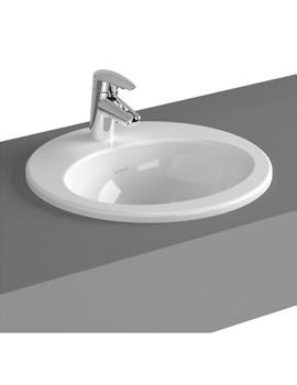 VitrA S20 48cm Countertop Basin Oval