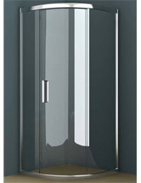 Tavistock Oxygen 8 900mm Single Sliding Door Shower Quadrant